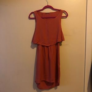 Audrey 3+1 - Coral Backless Dress